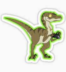 Rick and Morty - Photography Raptor Sticker