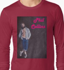 Phil Collins. Back in the 70s.  T-Shirt