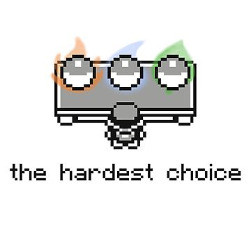 The Hardest Choice by Monac01