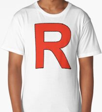 Team Rocket Logo Long T-Shirt