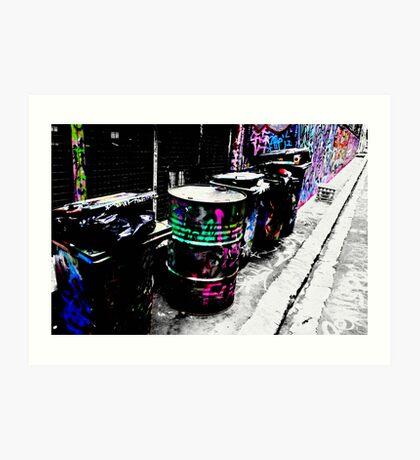 bins Art Print