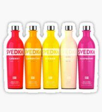 Svedka Bottles Sticker