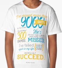 Michael Jordan Poster Long T-Shirt