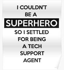 Sysadmin Super Hero Poster