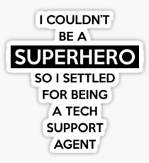 Sysadmin Super Hero Sticker