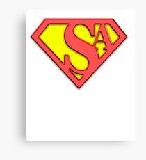 SysAdmin Super Hero Canvas Print