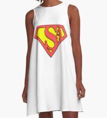 SysAdmin Super Hero A-Line Dress