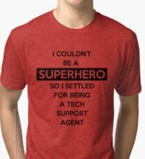 Sysadmin Super Hero Tri-blend T-Shirt