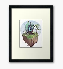 Lox, the disney princess Framed Print