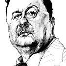 Ricky Gervais by meastbrook