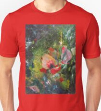 South wind. Abstraction. Flower Unisex T-Shirt