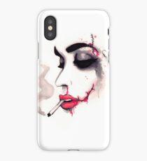 Bloody Cigarette  iPhone Case/Skin