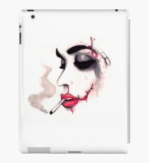 Bloody Cigarette  iPad Case/Skin