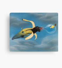 WE ALL LIVE IN A YELLOW SUBMARINE Canvas Print
