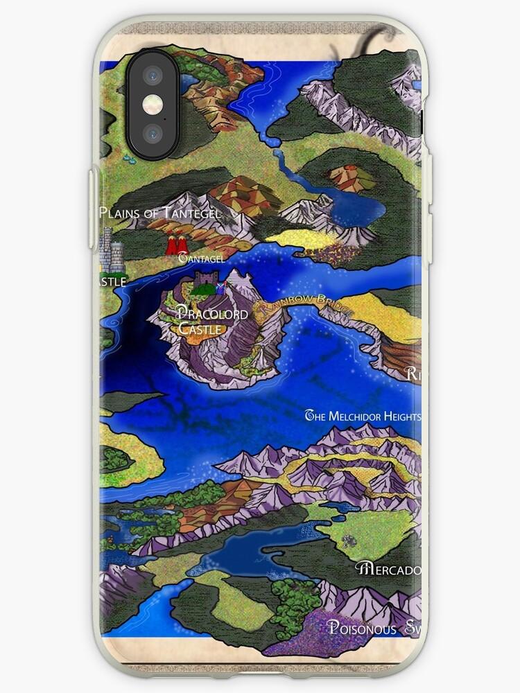 Dragon Warrior Map on