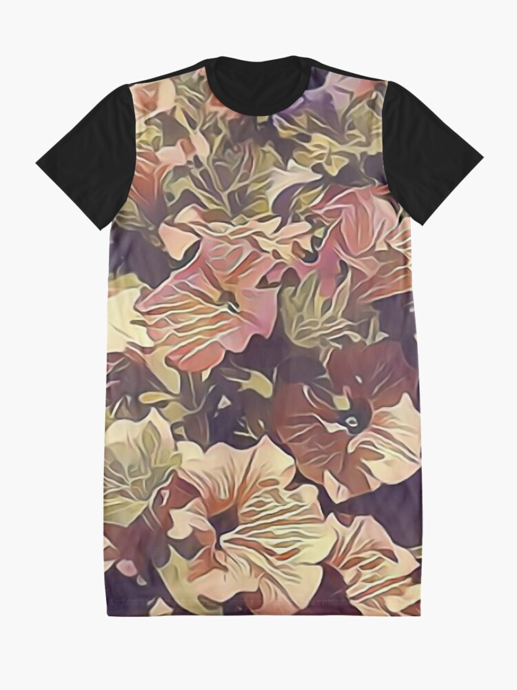Alternate view of New Flowers, New Hopes Graphic T-Shirt Dress