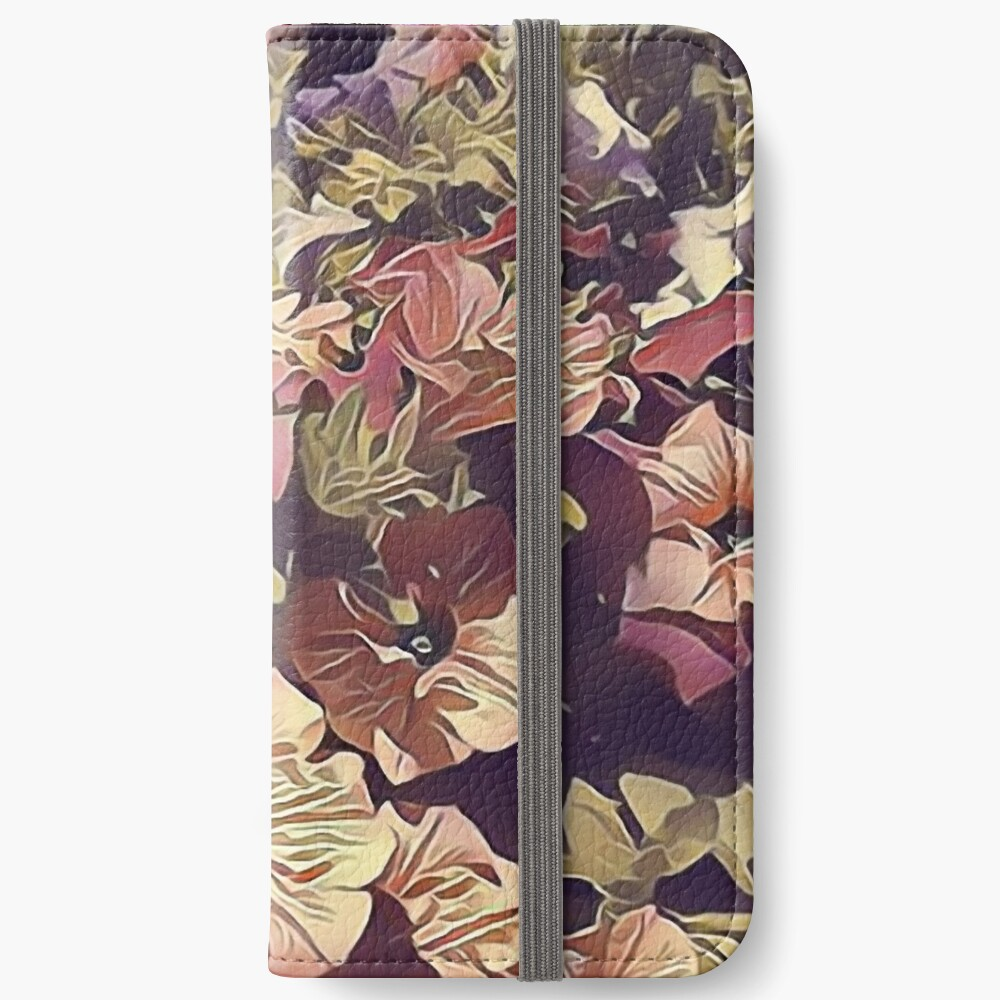 New Flowers, New Hopes iPhone Wallet