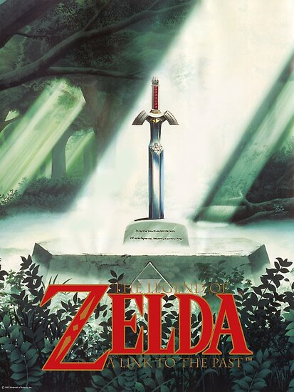 Quot The Legend Of Zelda A Link To The Past Sword In Stone