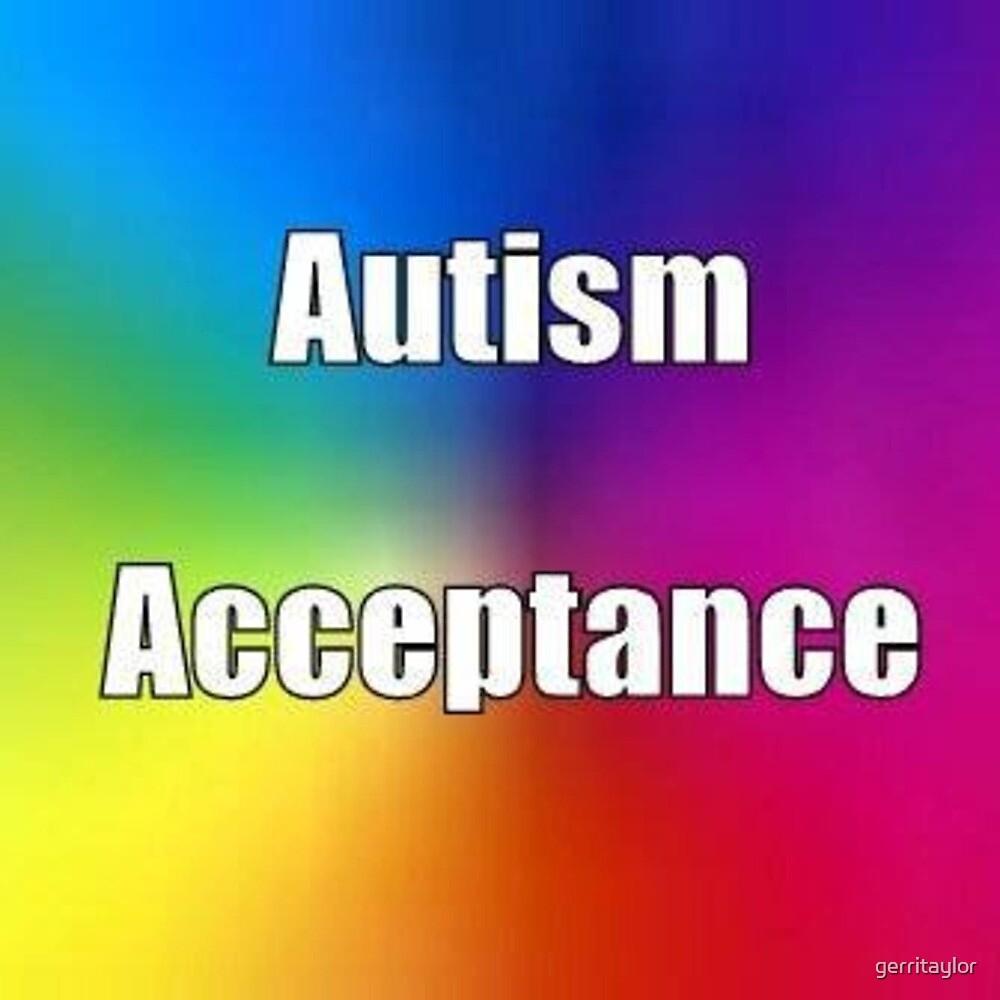 Autism Acceptance logo by gerritaylor