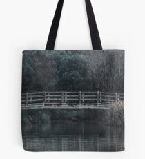 Bridge on the Lake - HDR Tote Bag