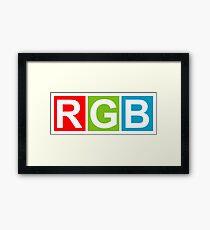 RGB (Red Green Blue) Framed Print