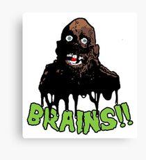 Tarman Brains  Canvas Print