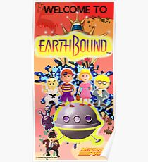 Earthbound Restored Poster Retro-Gaming Art Poster