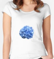 Hydrangea Flower in Nantucket Women's Fitted Scoop T-Shirt