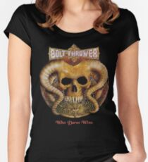 Bolt Thrower Women's Fitted Scoop T-Shirt