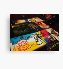 Books & Manga Canvas Print
