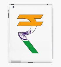 rupee symbol iPad Case/Skin