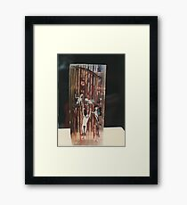 """""""The Collector""""1985 Side Framed Print"""