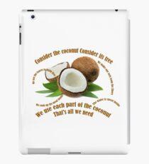 Consider the Coconut iPad Case/Skin