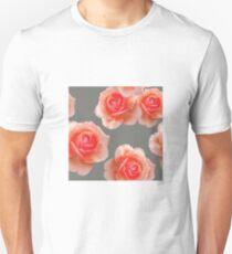 Blushing Roses Pattern Unisex T-Shirt