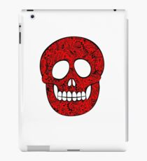 Mexican red skull iPad Case/Skin