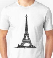 Eiffel Tower Drawing T-Shirt