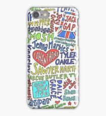 name tags  iPhone Case/Skin