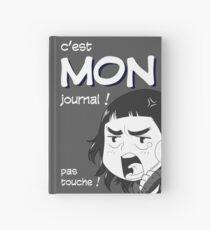 8-OPTIONS.COM - FR - MON JOURNAL A5 - GRIS - 10 $ pour auteurs Carnet cartonné