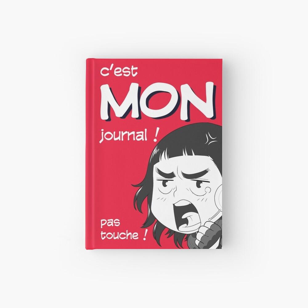 Carnet cartonné «8-OPTIONS.COM - FR - MON JOURNAL A5 - ROUGE - 10 $ pour auteurs»