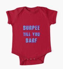 Burpee Till You Barf Unisex Tee One Piece - Short Sleeve