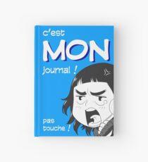 8-OPTIONS.COM - FR - MON JOURNAL A5 - BLEU - 10 $ pour auteurs Carnet cartonné