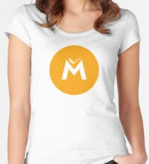 Monetary unit Women's Fitted Scoop T-Shirt