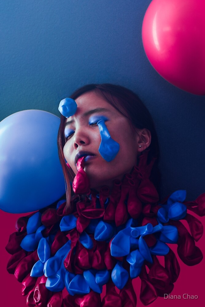 Bipolar Balloons (Minority Mental Health Month #2) by Diana Chao