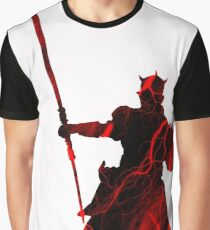Darth Maul Lightning Strike Graphic T-Shirt