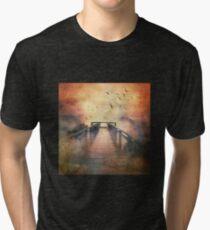 The Mountains Beckon Me Tri-blend T-Shirt
