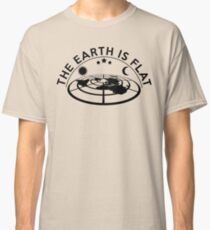 Flat Earth Classic T-Shirt