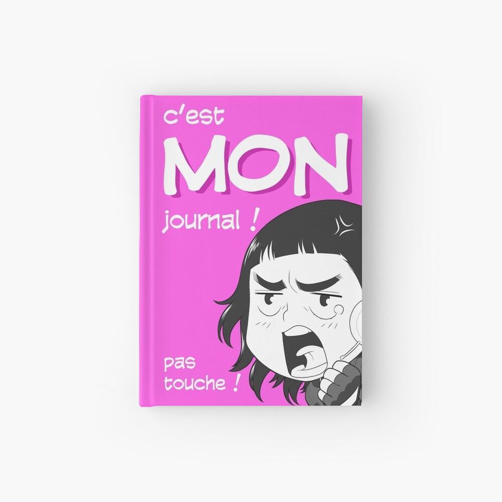 Carnet cartonné «8-OPTIONS.COM - FR - MON JOURNAL A5 - ROSE - 10 $ pour auteurs»