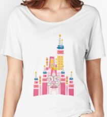 25th Birthday Magic Cake Castle Women's Relaxed Fit T-Shirt