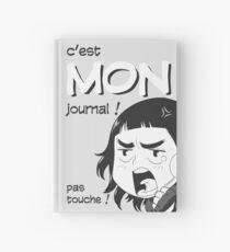 8-OPTIONS.COM - FR - MON JOURNAL A5 - GRIS CLAIR - 10 $ pour auteurs Carnet cartonné