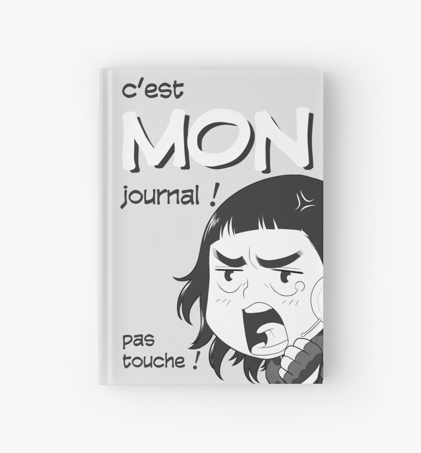 « 8-OPTIONS.COM - FR - MON JOURNAL A5 - GRIS CLAIR - 10 $ pour auteurs » par 8options